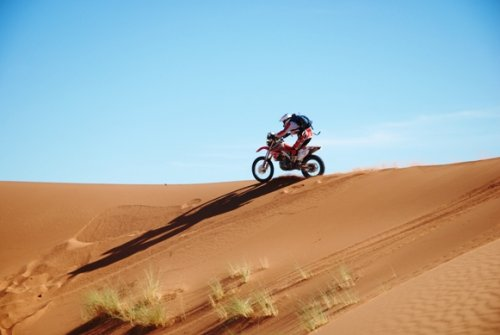 CAF   RACER 76  Goncalves  Honda Michelin  wins in Morocco and is